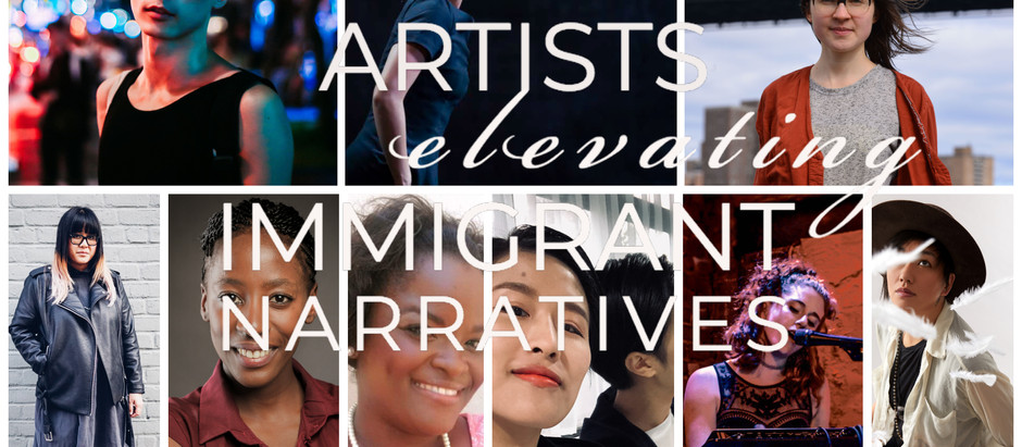 Artist Elevating Immigrant Narratives on 5/18