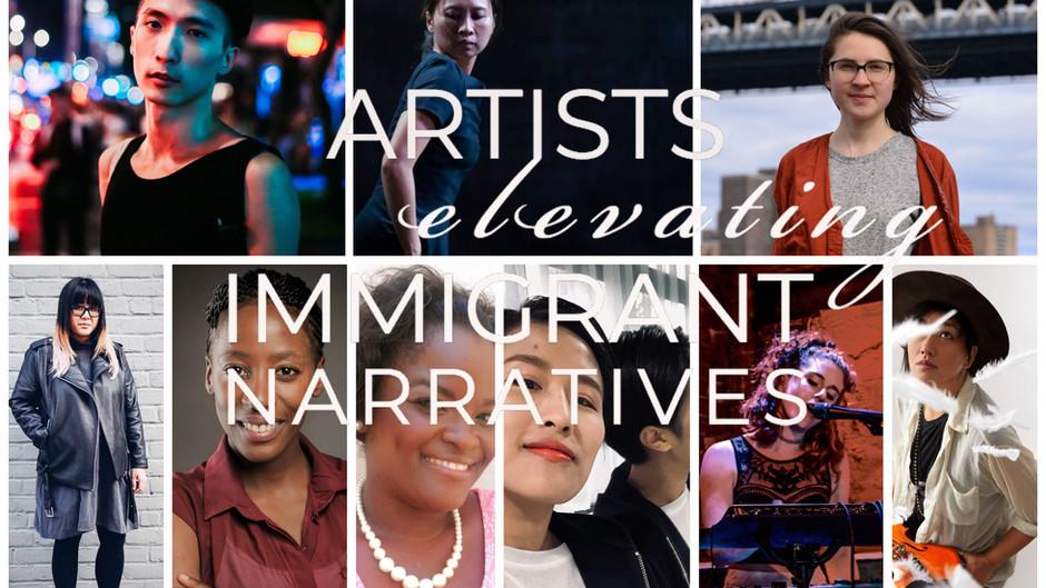 Artist Elevating Immigrant Narratives on 5/18