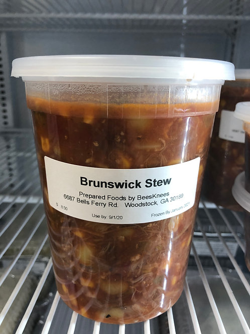 Gluten Free Brunswick Stew (No Topping)