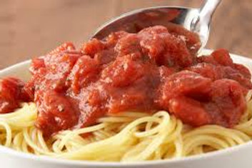 Pasta with Marinara Side