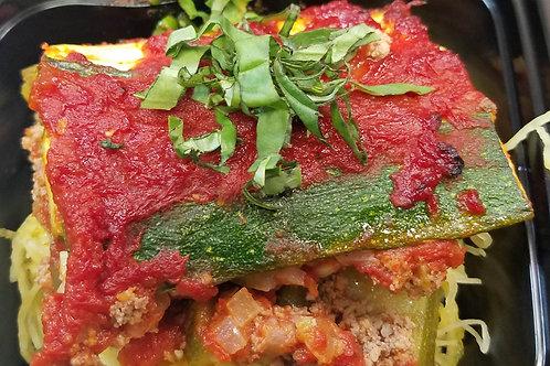 Zucchini-Beef Lasagna