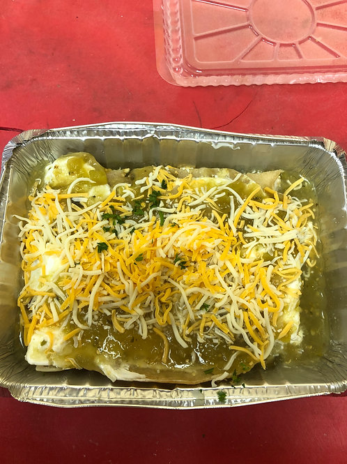 Chicken Enchilada Verde Bake