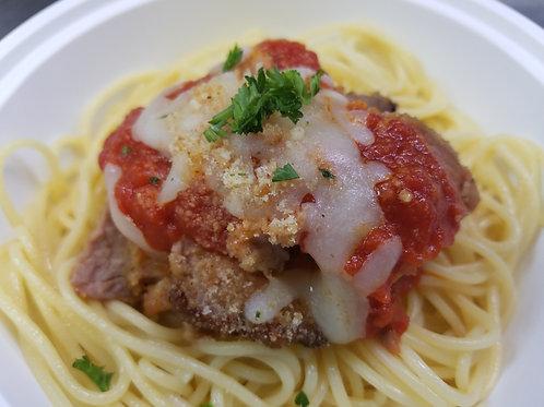 Pork Loin Italiano with Pasta