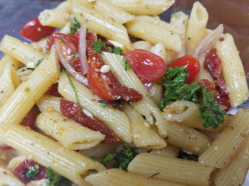NEW! Sundried Tomato & Feta Pasta Salad