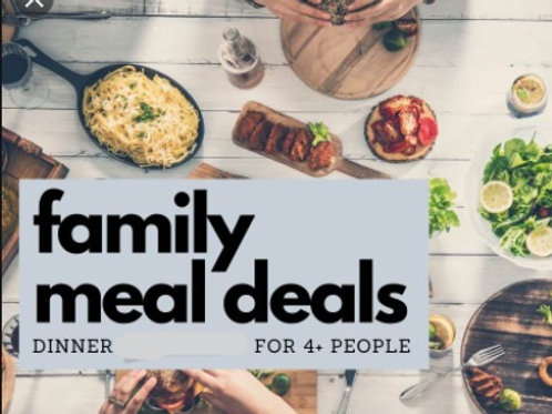 Family Meal Deal - January 18-22