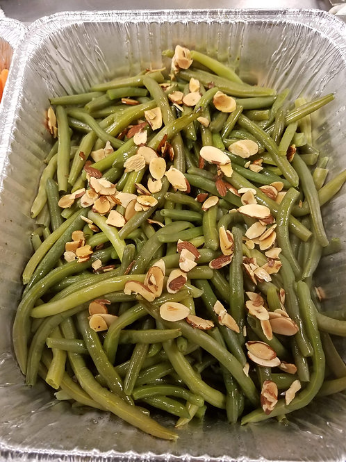 """""""It's Bean Too Long"""" Green Beans with Browned Butter and Almonds"""