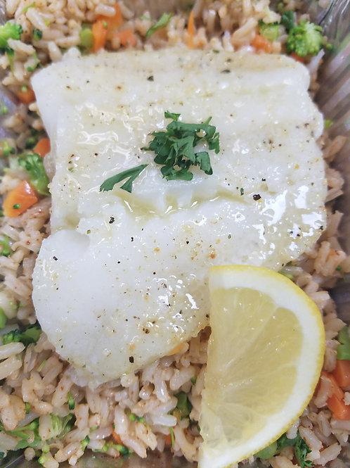 """""""Healthy Start"""" Mediterranean Baked Cod"""