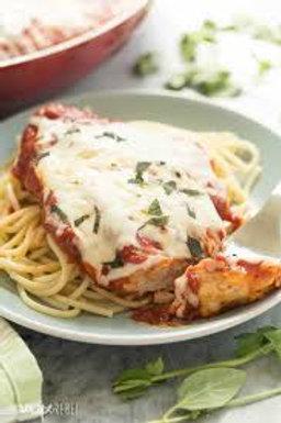 Healthy Start Chicken Parmesan