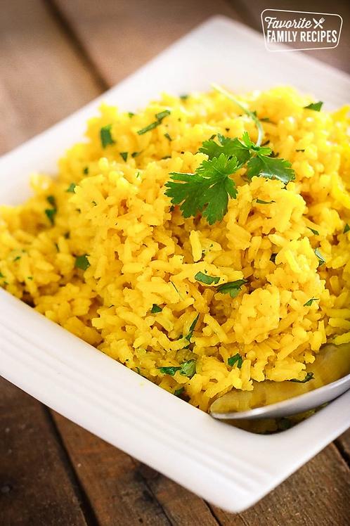 Yellow Rice, Seasoned