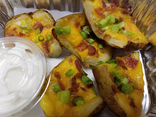 HOLIDAY PREVIEW: Loaded Potato Skins