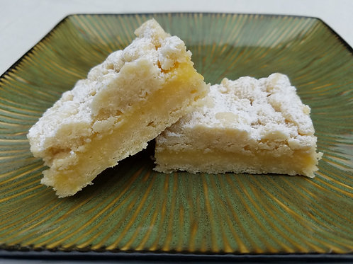 Lemon Curd Butter Crumb Bar