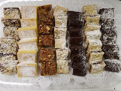 Assorted Tray of Dessert Bars