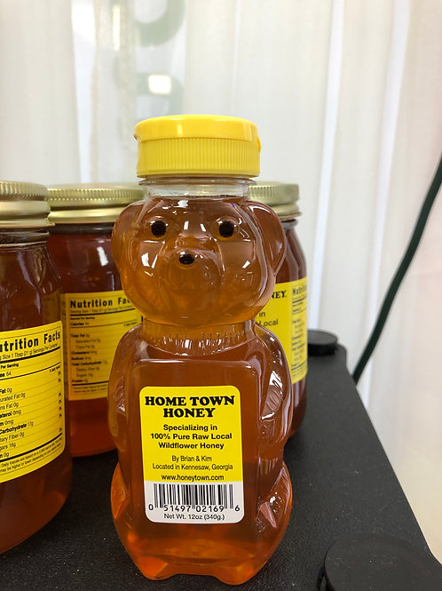 Hometown Honey Bear 12 oz