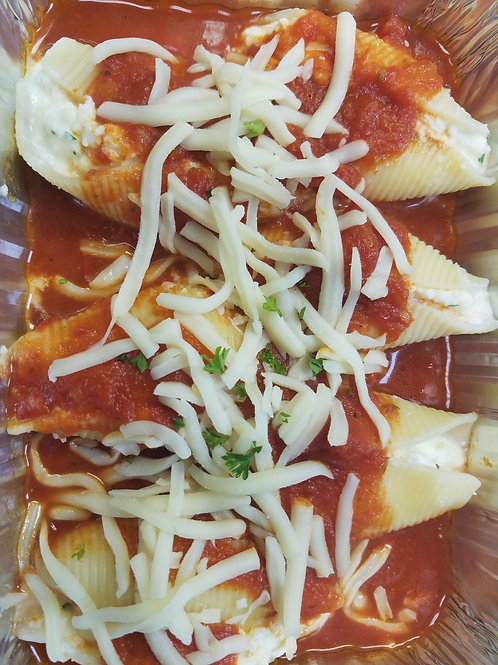 Meatless Main: Cheese Stuffed Shells (Frozen)