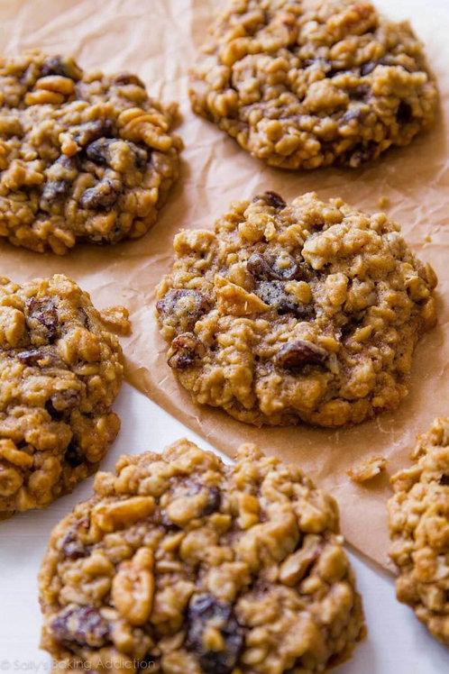 Biggie Cinnamon-Oatmeal-Craisin-Raisin-Walnut Cookie