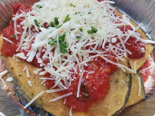 Meatless main: Eggplant Parmesan