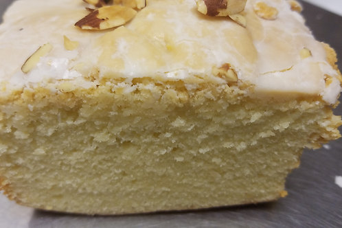 Almond Cream Cheese Pound Cake