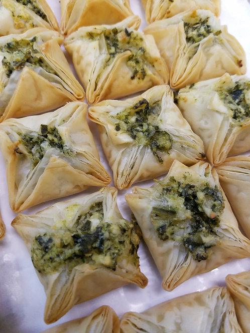 Spinach-Cheese Filo Blossoms