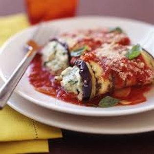 """Healthy Start"" Eggplant Rollatini"