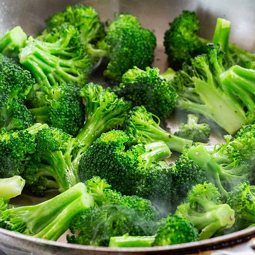 Broccoli, Blanched