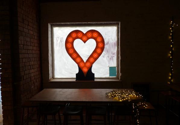 Light Up Heart / Giant Illuminated Heart
