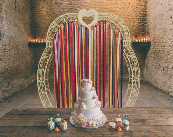 Floral Love Arch / Ceremony Arch