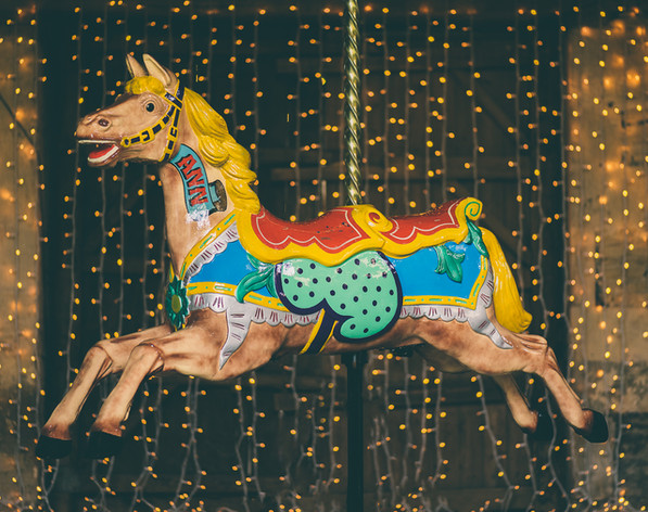 Carousel horses for hire