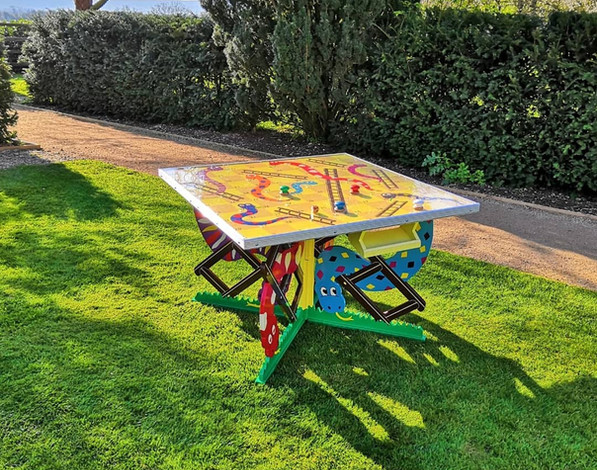 Snakes & Ladders Garden Games Hire Gloucestershire