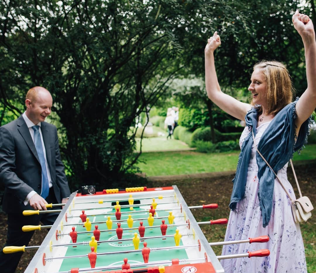 Table Football Garden Games Hire Gloucestershire