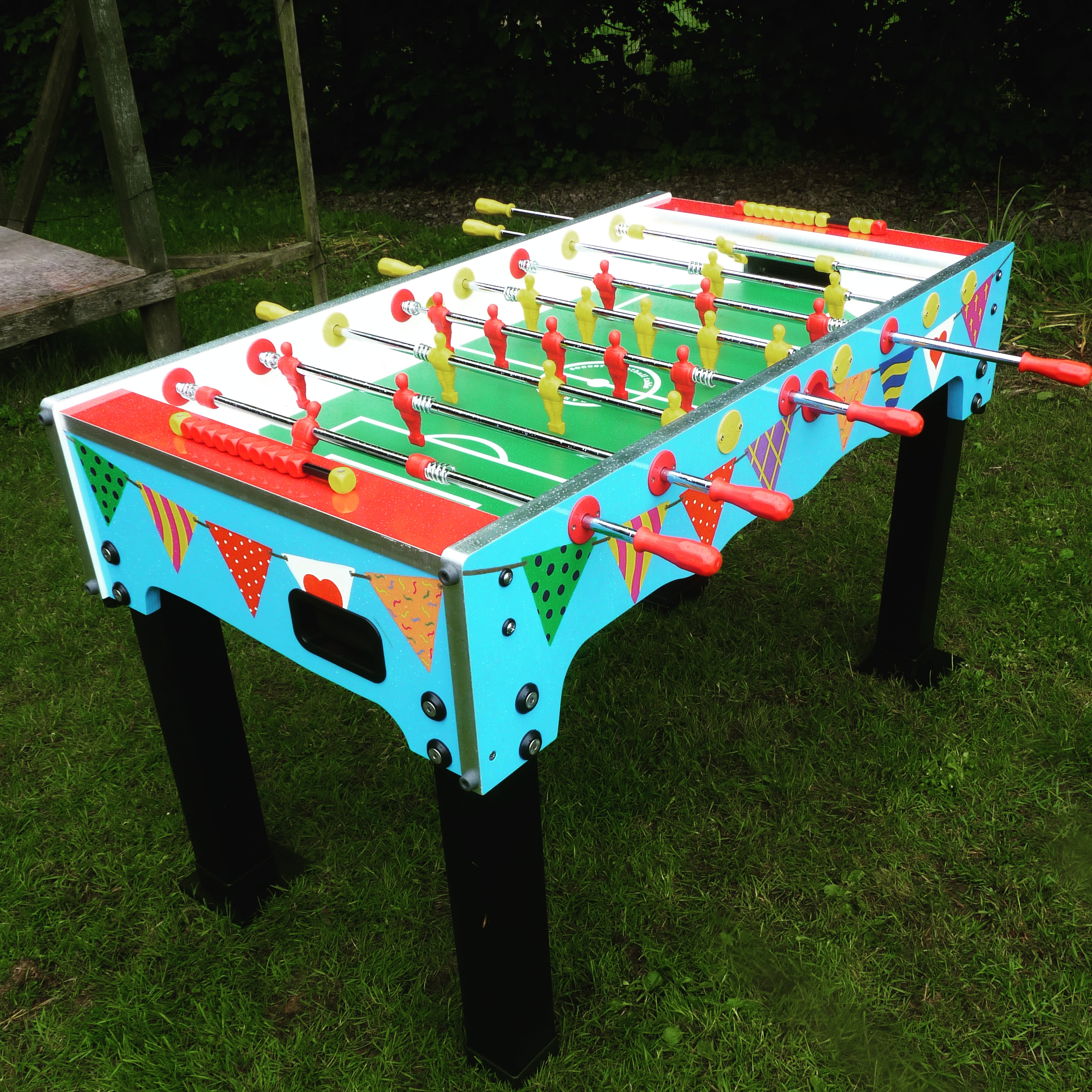 Table football hire hereford games · garden game hire gloucestershire