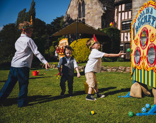 Traditional Garden Games Hire Gloucestershire