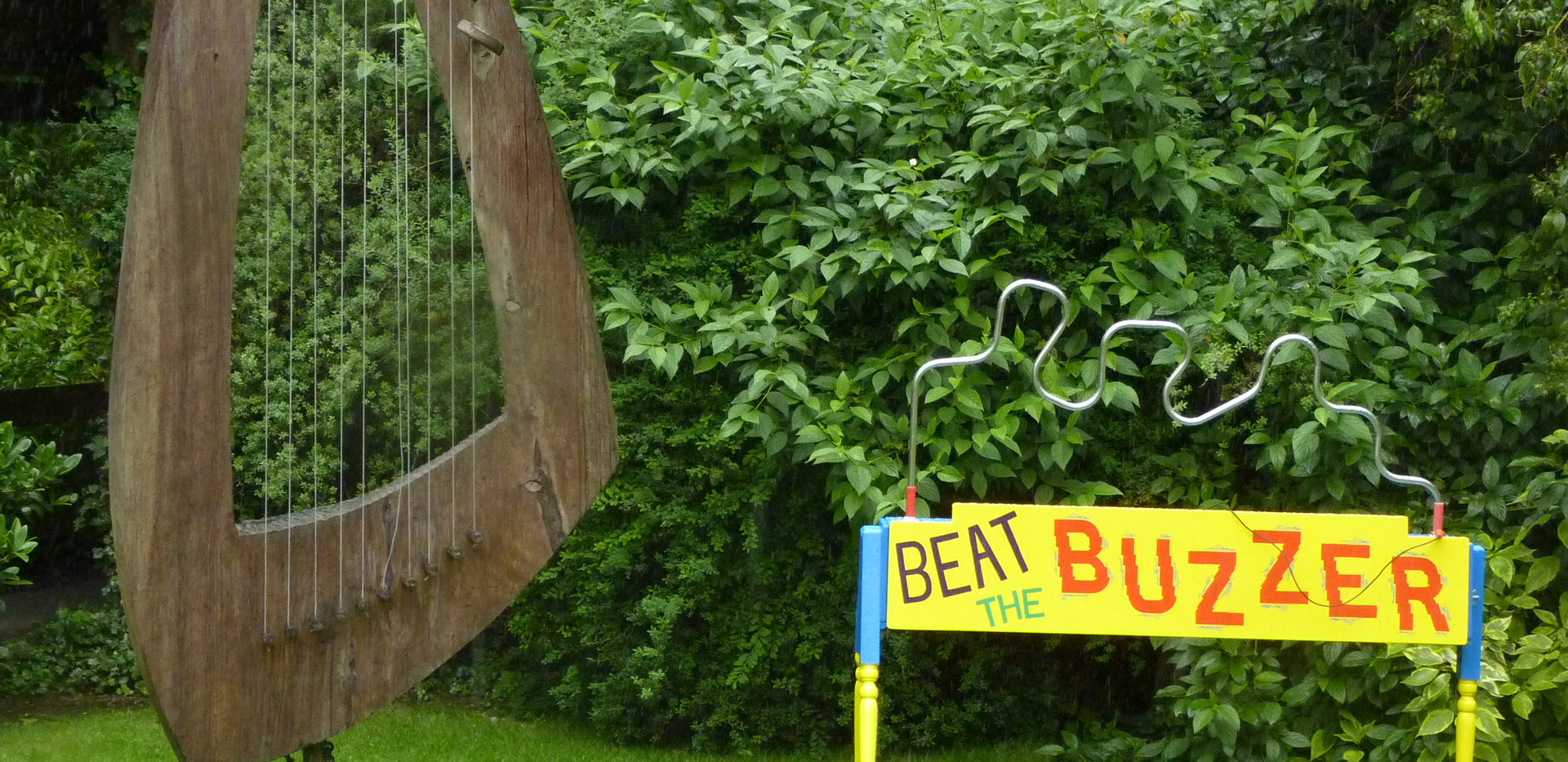 Beat The Buzzer Garden Games Hire Gloucestershire
