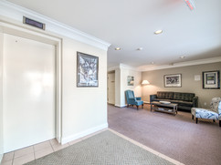 Linden Terrace Elevator and Lounge