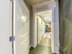 Hallway to Media Room
