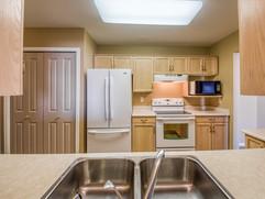 Kitchen View through Pass through