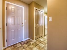 Foyer and Coat Closet