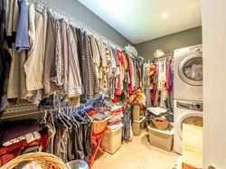 Master Closet and Laundry