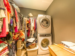 Walk-in Closet and Laundry