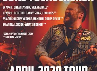 April UK shows announced!