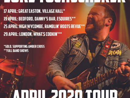 April UK shows announced!