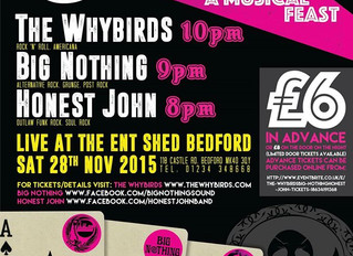 Whybirds playing a show!