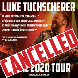 April UK shows cancelled
