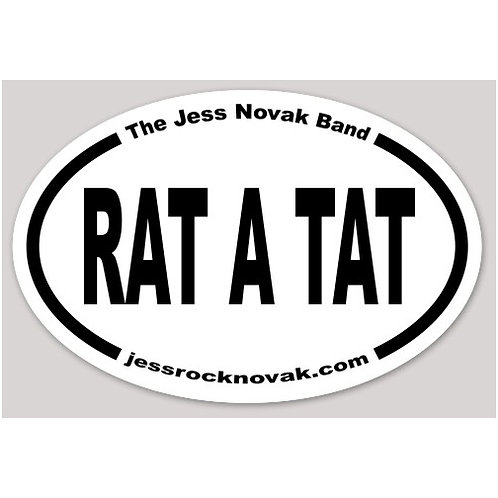 Rat a Tat Sticker