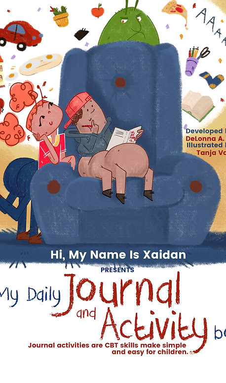Hi, My Name is Xaidan presents:  MyDaily Journal and Activity book