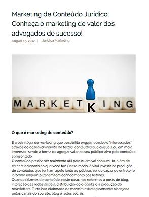 Marketing de Conteúdo Jurídica Marketing _Marketing Jurídico