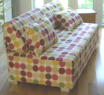 Cotton Sofa-bed loose cover.