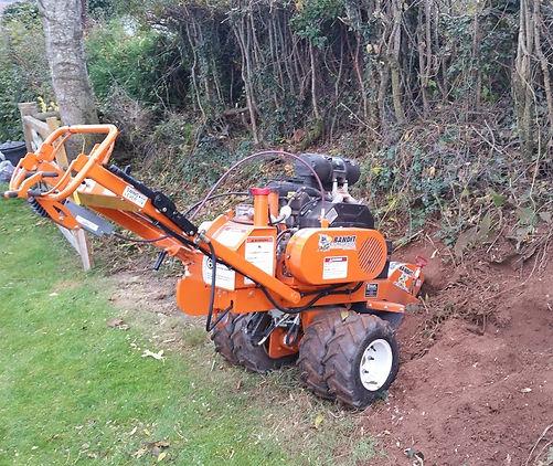 Stump removal Monmouth, Abergavenny