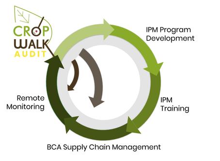 CropWalk Services, In tandem
