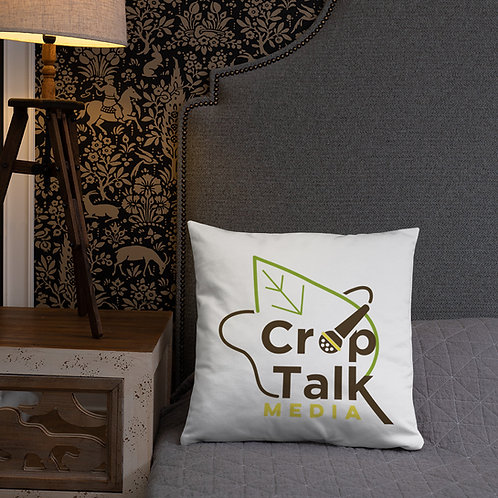 CropTalk'n'Walk Pillow