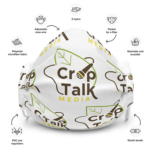 CropTalk Media Face Mask